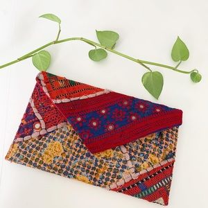 Noonday collection embroidered clutch